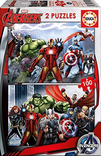 Educa Marvel Puzzle Colore Vario 841266815771 0