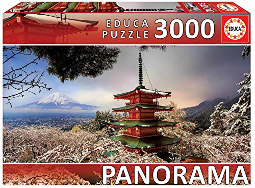 Educa Serie Panorama Puzzle Colore Vario 3000 Piezas 18013 0