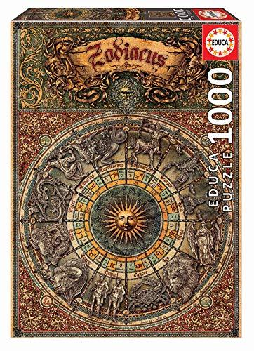 Educa Zodiaco Puzzle Per Adulto 1000 Pezzi Rif 17996 Colore Vario Sin Talla 0