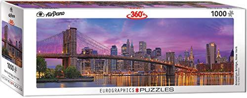 Eurographics 6010 5301 Brooklyn Bridge New York Puzzle 1000 Piece 6010 5301 Puzzle 1000 Pezzi Colore Vario 0