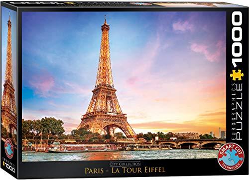 Eurographics Paris Eiffel Tower Puzzle 1000 Piece 6000 0765 0