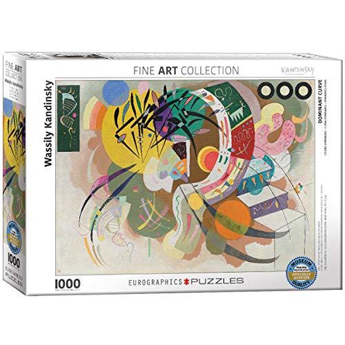 Eurographics Puzzle Wassily Kandinsky Dominant Curve 1000 Pezzi Multicolore 0