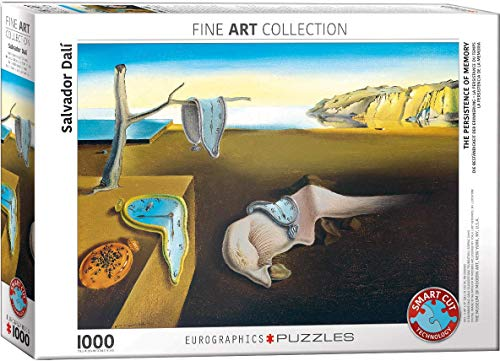 Eurographics The Persistence Of Memory Puzzle Colore Vario 6000 0845 0