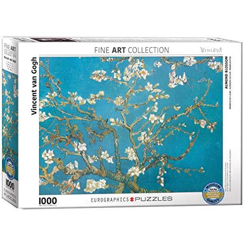Eurographics 00153 Van Gogh Ramo Di Mandorlo In Fiore Puzzle 1000 Pezzi 0