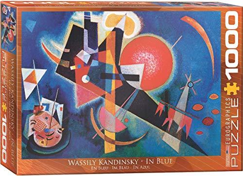 Eurographics 01897 Kandinsky Nel Blu Puzzle 1000 Pezzi 0