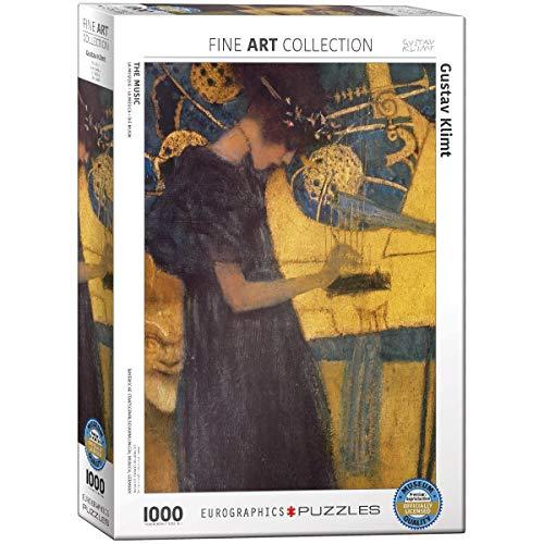 Eurographics 01991 Klimt Musica Puzzle 1000 Pezzi 0