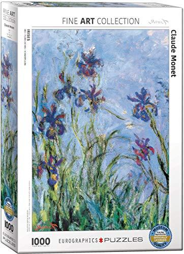 Eurographics 02034 Monet Iris Puzzle 1000 Pezzi 0