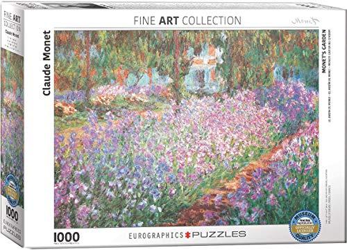 Eurographics 04908 Monet Giardino Puzzle 1000 Pezzi 0