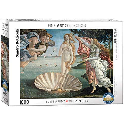 Eurographics 05001 Botticelli Nascita Di Venere Puzzle 1000 Pezzi 0