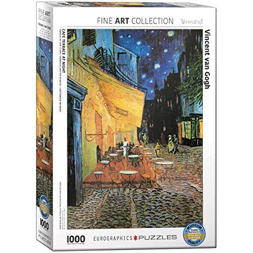 Eurographics Cafe At Night Vincent Van Gogh Eg60002143 Puzzle 1000 Pezzi 0