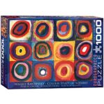 Eurographics Color Study Of Squares By Wassily Kandinsky Puzzle 1000 Pieces By Eurographics 0