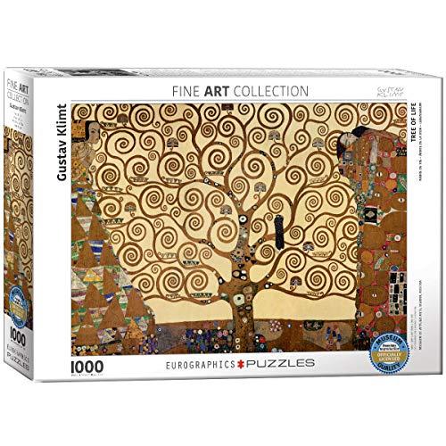 Eurographics Tree Of Life Gustav Klimt Eg60006059 Puzzle 1000 Pezzi 0