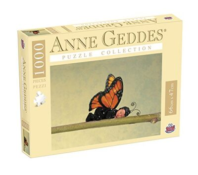 Grandi Giochi Gg90110 Puzzle Anna Geddes 1000 Pezzi Butterfly 0