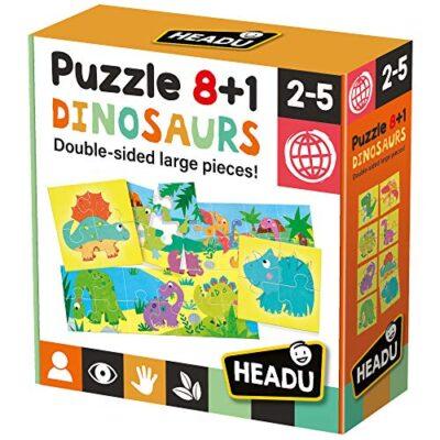 Headu Dinosaurs Puzzle 81 Colore Multiplo It22243 0