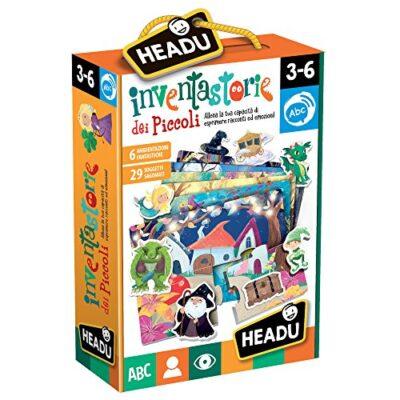 Headu Inventastorie Dei Piccoli Puzzle Multicolore It22236 0