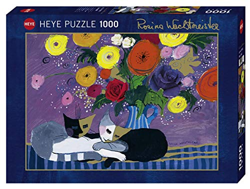 Heye 1000 Teile Puzzle Con Effetto Oro Wachtmeister Sleep Well 1000 Pezzi Colore Marrone Vd 29818 0