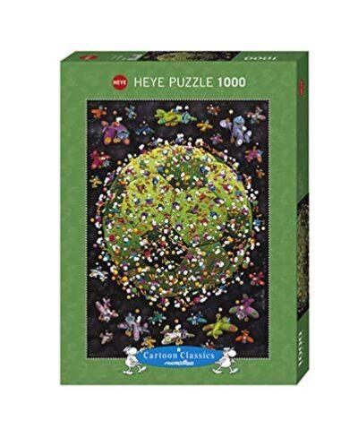 Heye Mordillo Puzzle Pallone Da Calcio 1000 Pezzi Multicolore 29359 0