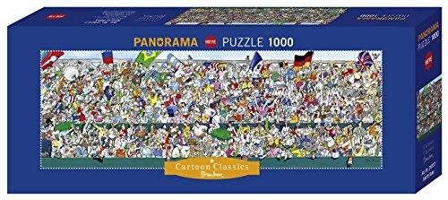 Heye Puzzle Panoramico Blachon Gli Appassionati Di Sport 1000 Pezzi Vd 29757 0