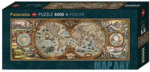 Heye Puzzle Panoramico Rajko Zigic Emisfero 6000 Pezzi Vd 29615 0