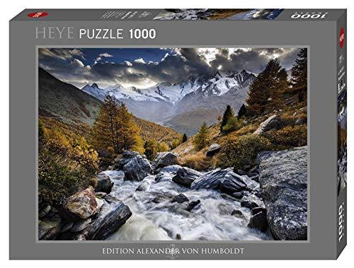 Heye Puzzle Ruscello Di Montagna 1000 Pezzi Multicolore 29712 0