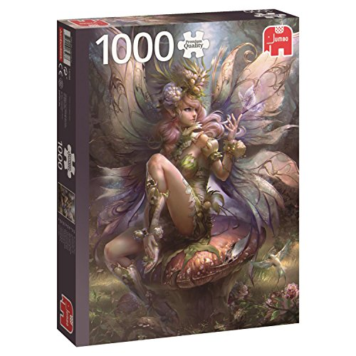 Jumbo Spiele Gmbh Incantevole Fairy Puzzle 1000 Pezzi Multicolore 18598 0