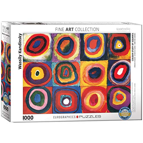 Kandinsky Study Squares Puzzle 1000 Teilegiocattolo 29 Ottobre 2018 0