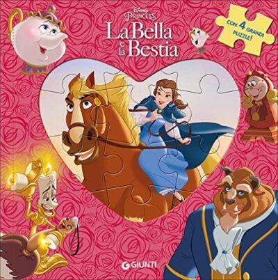 La Bella E La Bestia Libro Puzzle Ediz A Colori 0