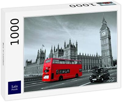 Lais Puzzle Autobus A Londra 1000 Pezzi 0