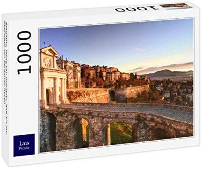 Lais Puzzle Bergamo Porta San Giacomo Vecchia Porta Della Citta Alta Di Bergamo Italia 1000 Pezzi 0