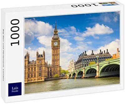 Lais Puzzle Big Ben E Parlamento Londra 1000 Pezzi 0