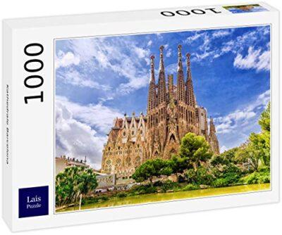 Lais Puzzle Cattedrale Di Barcellona 1000 Pezzi 0