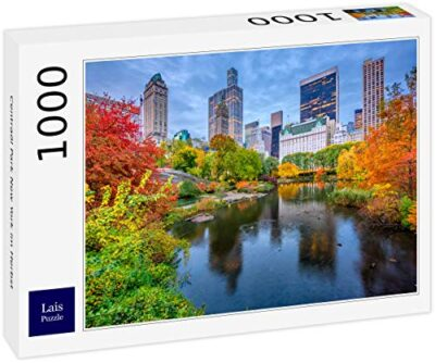Lais Puzzle Central Park New York In Autunno 1000 Pezzi 0
