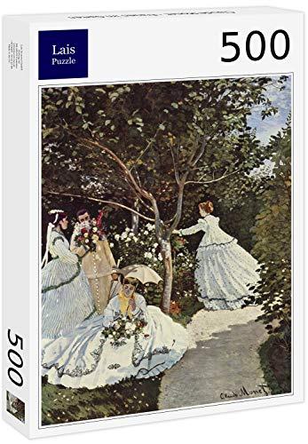 Lais Puzzle Claude Monet Donne Nel Giardino 500 Pezzi 0