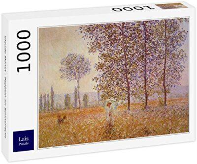 Lais Puzzle Claude Monet Pioppi Alla Luce Del Sole 1000 Pezzi 0