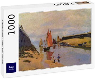 Lais Puzzle Claude Monet Porto Di Trouville 1000 Pezzi 0