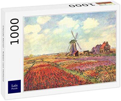 Lais Puzzle Claude Monet Tulipani Dolanda 1000 Pezzi 0