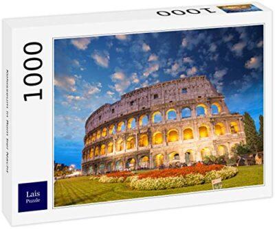 Lais Puzzle Colosseo A Roma Di Notte 1000 Pezzi 0
