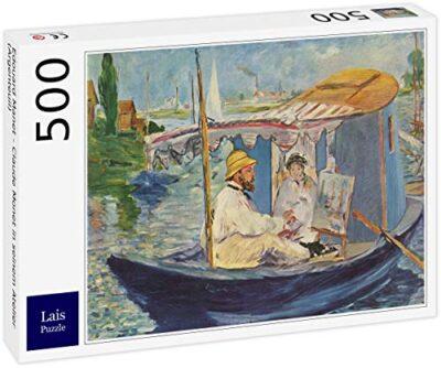 Lais Puzzle Edouard Manet Claude Monet Nel Suo Studio Argenteuil 500 Pezzi 0