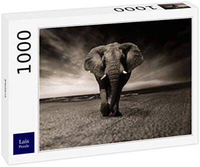 Lais Puzzle Elefante 1000 Pezzi 0