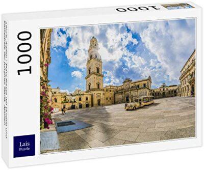 Lais Puzzle Lecce Italia Piazza Del Duomo E Cattedrale Della Vergine Maria Puglia Italia 1000 Pezzi 0