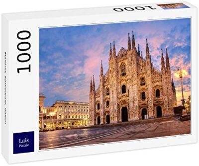Lais Puzzle Milano Duomo Italia 1000 Pezzi 0