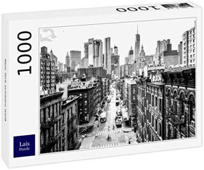 Lais Puzzle New York Bianco Nero 1000 Pezzi 0