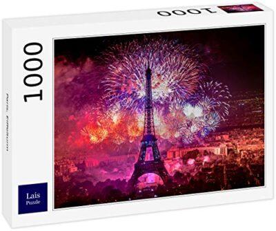 Lais Puzzle Parigi Torre Eiffel 1000 Pezzi 0