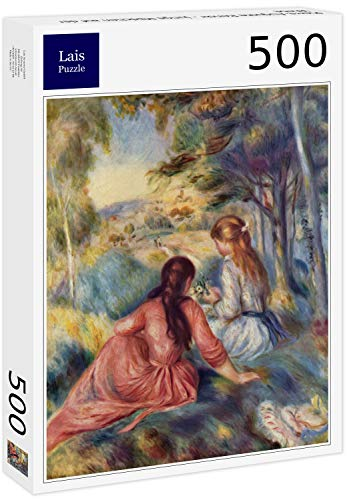 Lais Puzzle Pierre Auguste Renoir Giovani Ragazze Nel Prato 500 Pezzi 0