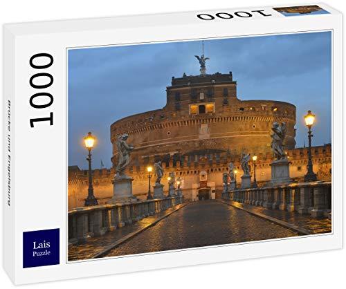 Lais Puzzle Ponte E Castel Santangelo Roma 1000 Pezzi 0