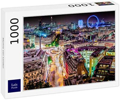 Lais Puzzle Skyline Di Londra 1000 Pezzi 0