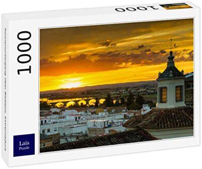 Lais Puzzle Tramonto Su Badajoz Estremadura 1000 Pezzi 0