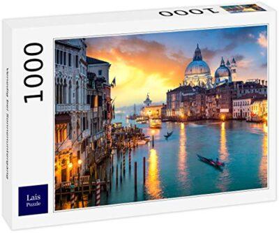 Lais Puzzle Venezia Al Tramonto 1000 Pezzi 0