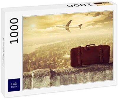 Lais Puzzle Viaggiare In Aereo 1000 Pezzi 0