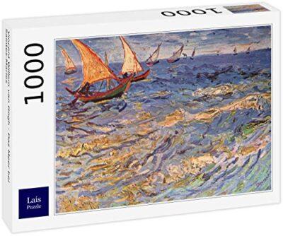 Lais Puzzle Vincent Willem Van Gogh Il Mare Vicino A Saintes Maries 1000 Pezzi 0